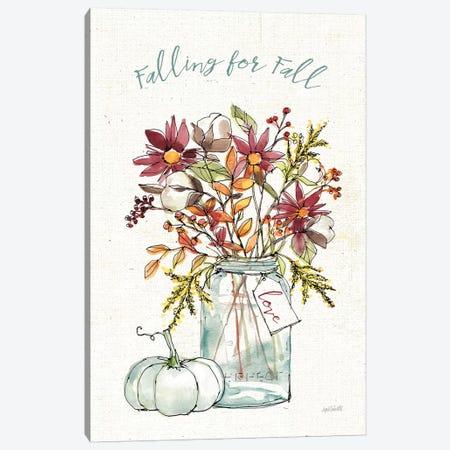 Festive Foliage II Canvas Print #ATA5} by Anne Tavoletti Canvas Artwork