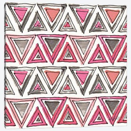 Chic Accents Pattern IVA Canvas Print #ATA61} by Anne Tavoletti Canvas Art