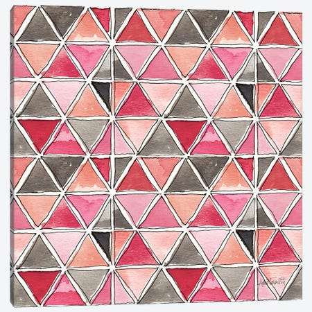 Chic Accents Pattern VA Canvas Print #ATA62} by Anne Tavoletti Canvas Art