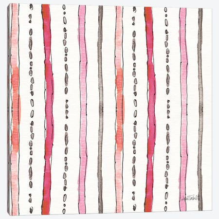 Chic Accents Pattern VI Canvas Print #ATA63} by Anne Tavoletti Canvas Artwork
