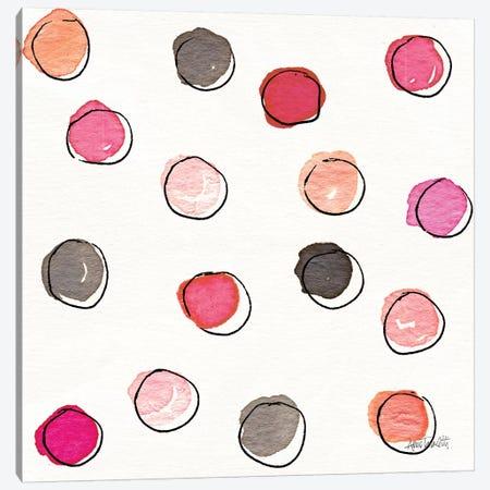 Chic Accents Pattern VIIA 3-Piece Canvas #ATA64} by Anne Tavoletti Canvas Art Print