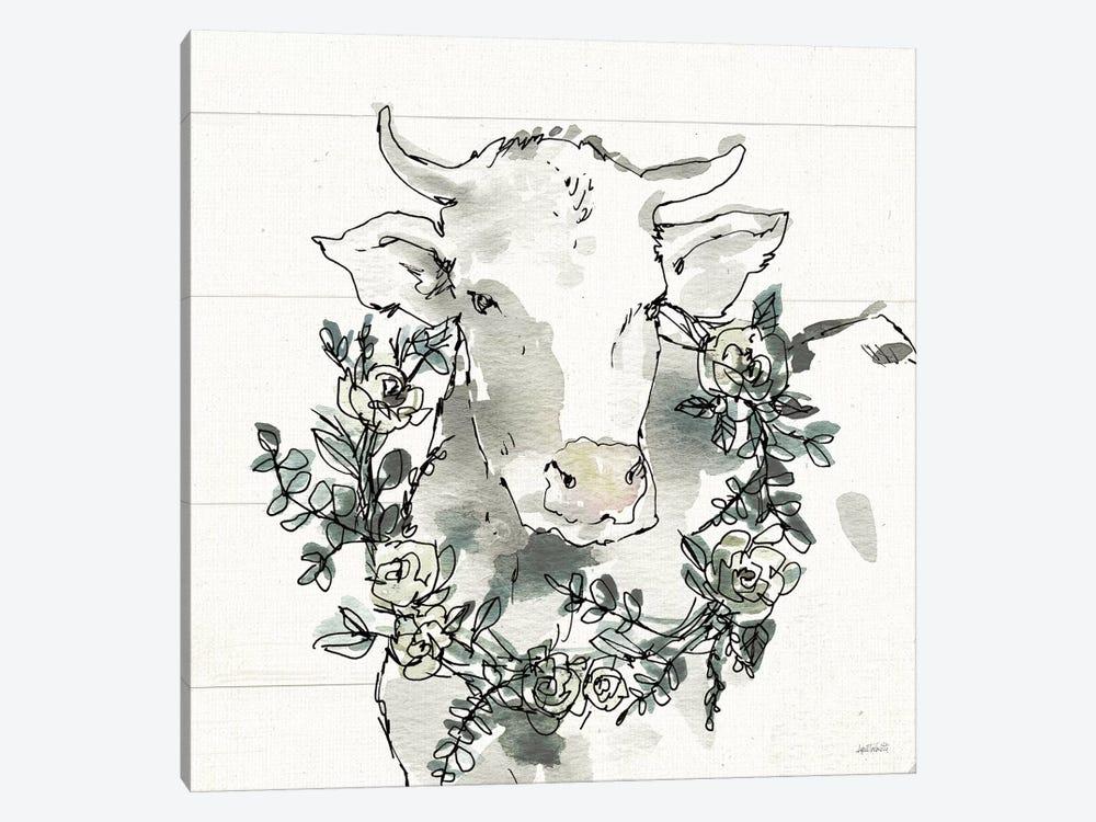 Modern Farmhouse XII by Anne Tavoletti 1-piece Canvas Art