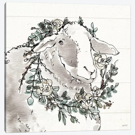 Modern Farmhouse XIII Canvas Print #ATA73} by Anne Tavoletti Canvas Art Print