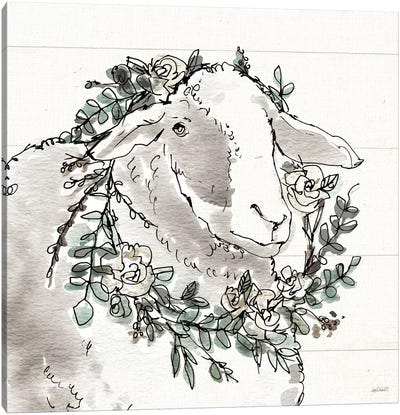 Modern Farmhouse XIII Canvas Art Print
