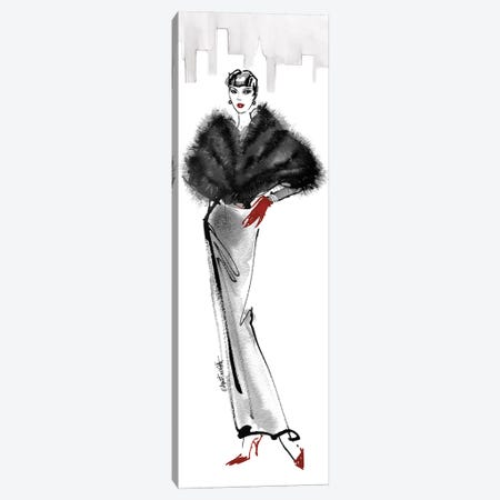 Fifties Fashion I - Red Gloves Canvas Print #ATA7} by Anne Tavoletti Canvas Artwork