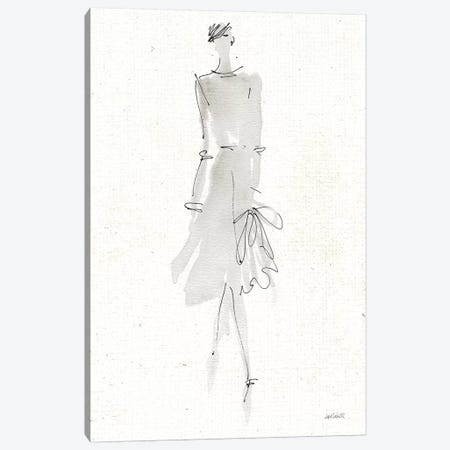 La Fashion I Gray v2 Canvas Print #ATA88} by Anne Tavoletti Canvas Artwork