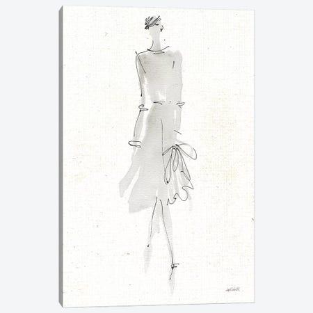 La Fashion I Gray v2 Canvas Print #ATA88} by Anne Tavoletti Canvas Artwork