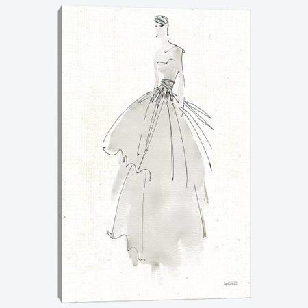 La Fashion II Gray v2 Canvas Print #ATA89} by Anne Tavoletti Canvas Art