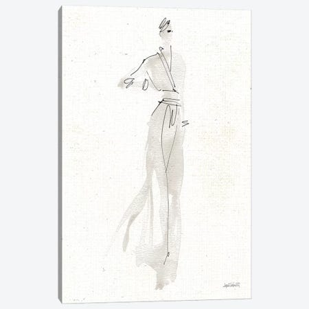 La Fashion IV Gray v2 Canvas Print #ATA91} by Anne Tavoletti Canvas Print