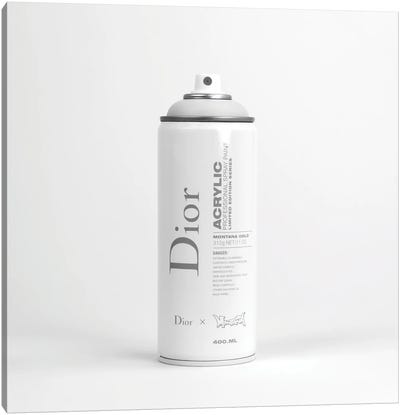 Brandalism Dior Spray Paint Can Canvas Art Print