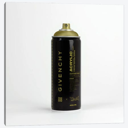 Brandalism Givenchy Spray Paint Can Canvas Print #ATB12} by Antonio Brasko Canvas Art