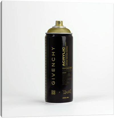 Brandalism Givenchy Spray Paint Can Canvas Art Print
