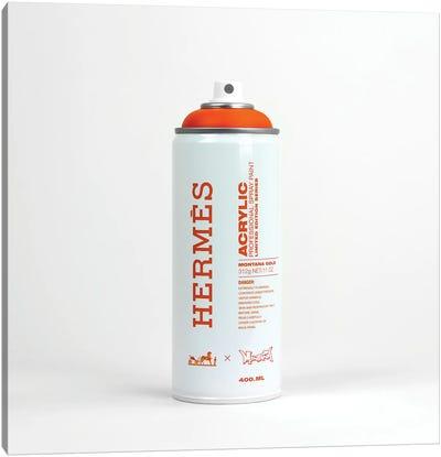Brandalism Hermés Spray Paint Can Canvas Art Print