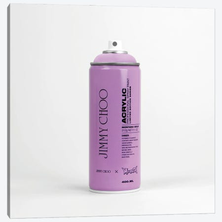 Brandalism Jimmy Choo Spray Paint Can Canvas Print #ATB15} by Antonio Brasko Canvas Print