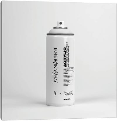 Brandalism Yves Saint Laurent Spray Paint Can Canvas Art Print