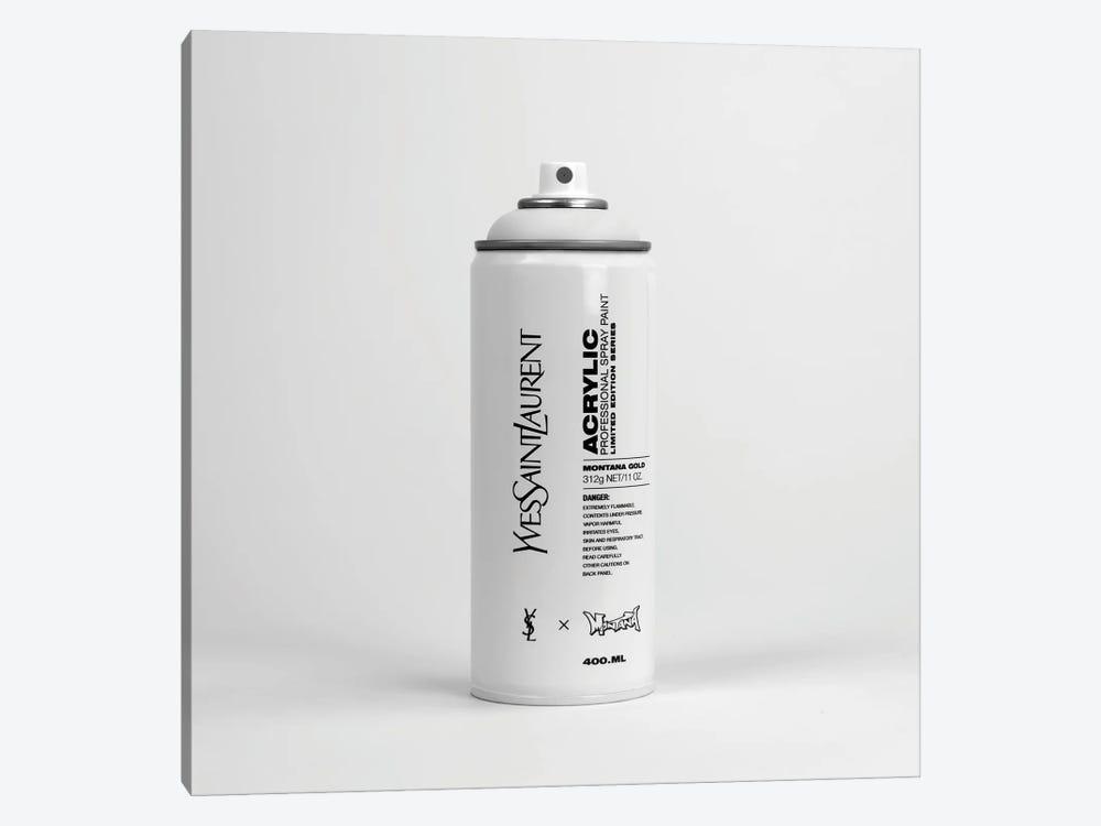 Brandalism Yves Saint Laurent Spray Paint Can by Antonio Brasko 1-piece Canvas Art
