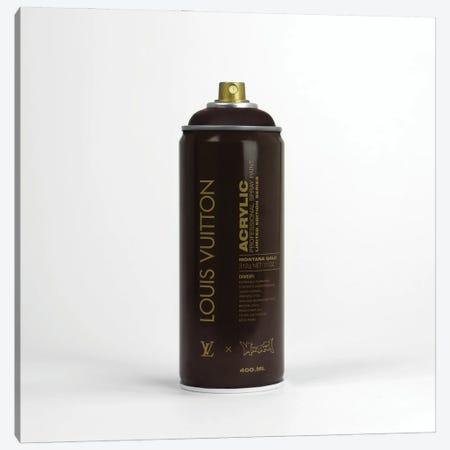 Brandalism Louis Vuitton Spray Paint Can Canvas Print #ATB19} by Antonio Brasko Canvas Artwork