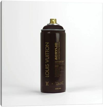 Brandalism Louis Vuitton Spray Paint Can Canvas Art Print