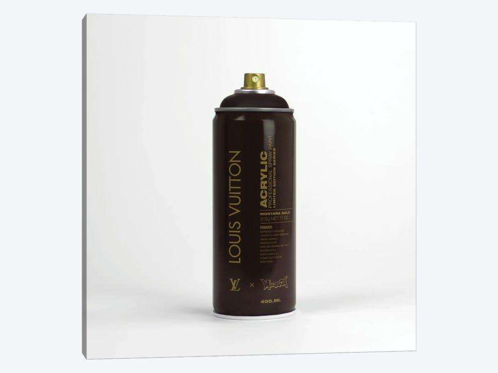 Brandalism Louis Vuitton Spray Paint Can by Antonio Brasko 1-piece Canvas Print