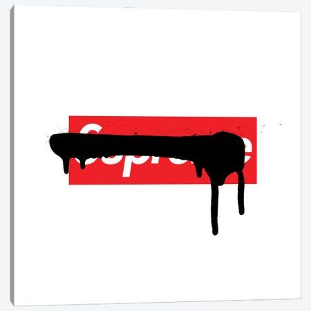 Supreme Luxury Paint Drip Canvas Print #ATB2} by Antonio Brasko Canvas Art