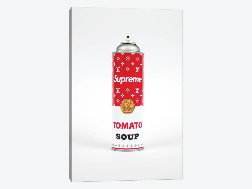 Supreme Louis Vuitton Soup Spray Paint Can by Antonio Brasko 1-piece Canvas Art