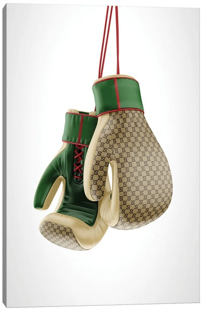 Gucci Boxing Gloves Canvas Art Print