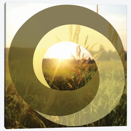 Circular Infinity Canvas Print #ATC6} by 5by5collective Canvas Wall Art