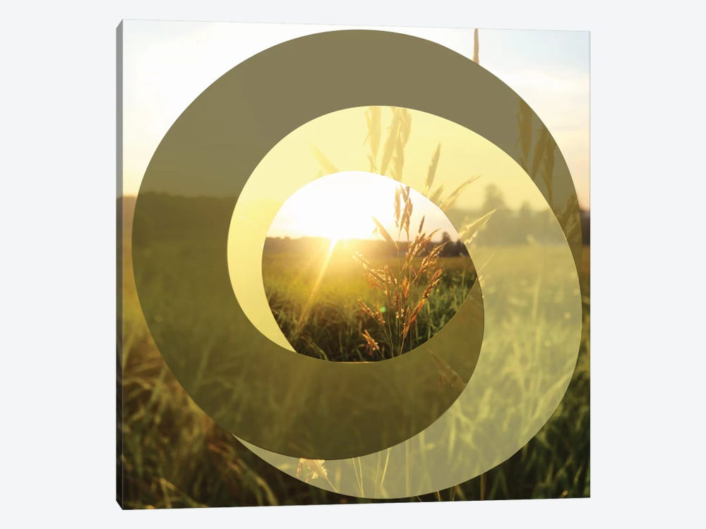 Circular Infinity 1-piece Canvas Art