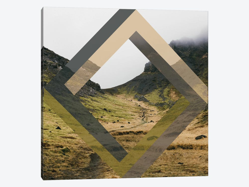 Diamond Hike by 5by5collective 1-piece Canvas Artwork