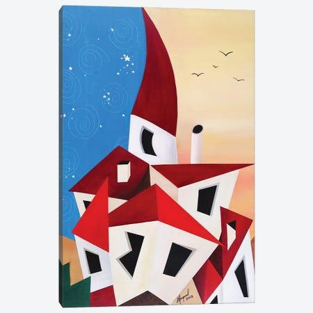 Fabulous Town Canvas Print #ATF109} by Alexander Trifonov Canvas Art Print