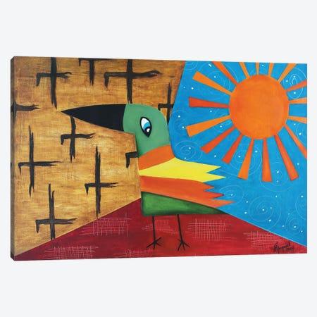 Golden Bird Canvas Print #ATF110} by Alexander Trifonov Canvas Artwork