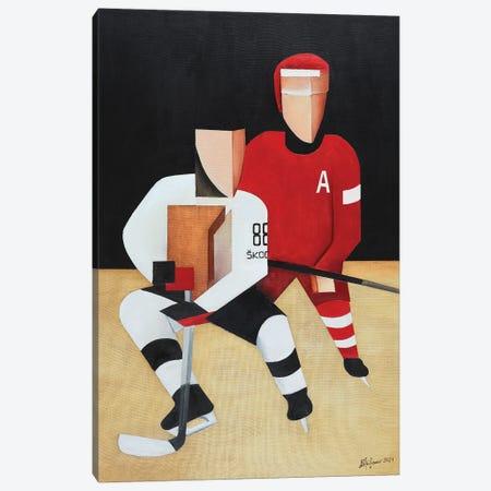 Hockey Players Canvas Print #ATF120} by Alexander Trifonov Canvas Print
