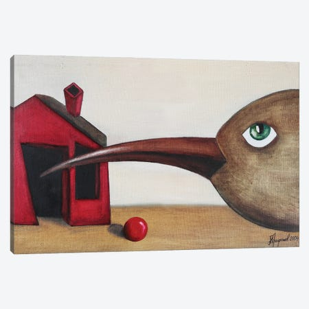 The Bird Is Looking For You Canvas Print #ATF127} by Alexander Trifonov Canvas Art