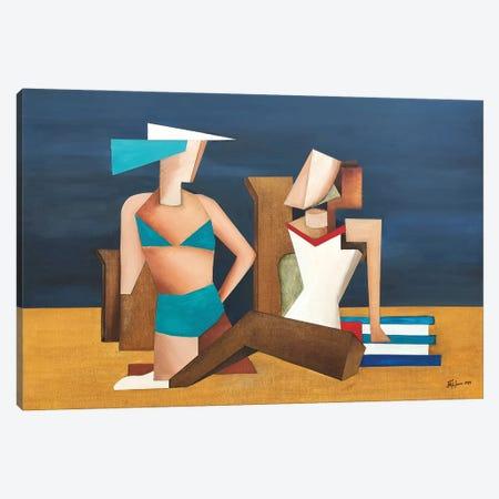 On The Beach Two Canvas Print #ATF15} by Alexander Trifonov Art Print