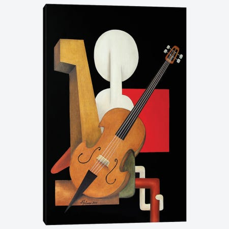 Violoncelliste Canvas Print #ATF19} by Alexander Trifonov Canvas Wall Art