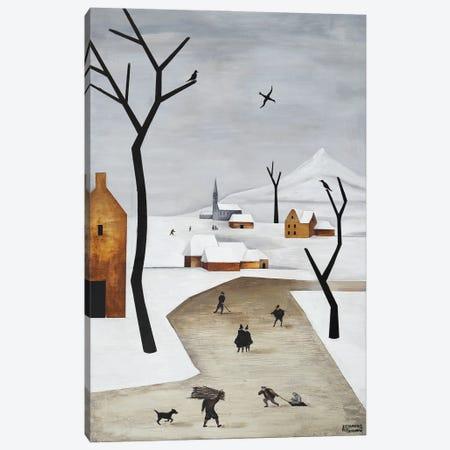February Canvas Print #ATF42} by Alexander Trifonov Art Print