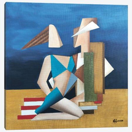 On The Beach Canvas Print #ATF47} by Alexander Trifonov Canvas Art