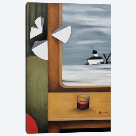 Russia At The Window Canvas Print #ATF51} by Alexander Trifonov Canvas Artwork