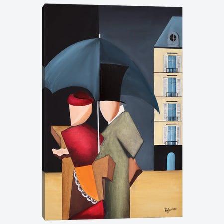 Rainy Day In Paris Canvas Print #ATF60} by Alexander Trifonov Canvas Print