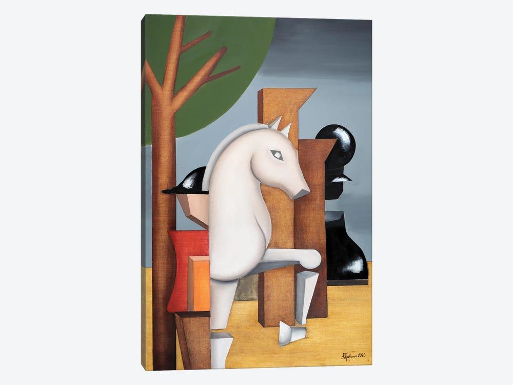 Chess by Alexander Trifonov 1-piece Canvas Art Print
