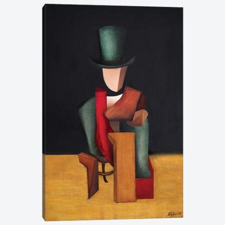 The Poet Paul Verlaine Canvas Print #ATF75} by Alexander Trifonov Canvas Print