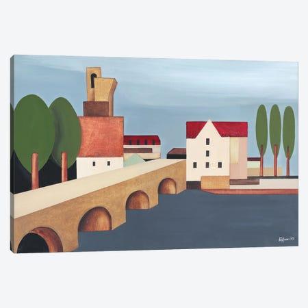 The French Bridge II Canvas Print #ATF79} by Alexander Trifonov Canvas Artwork