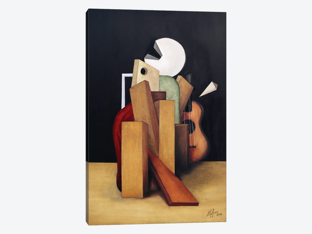 Federico García Lorca II by Alexander Trifonov 1-piece Canvas Wall Art