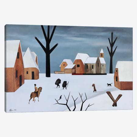 January Day Canvas Print #ATF81} by Alexander Trifonov Canvas Print