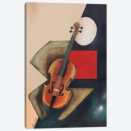 Cellist Musician II Canvas Print #ATF84} by Alexander Trifonov Canvas Wall Art