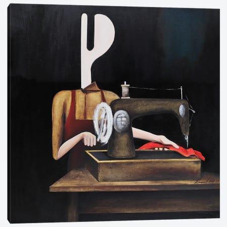 The Seamstress Canvas Print #ATF87} by Alexander Trifonov Canvas Art