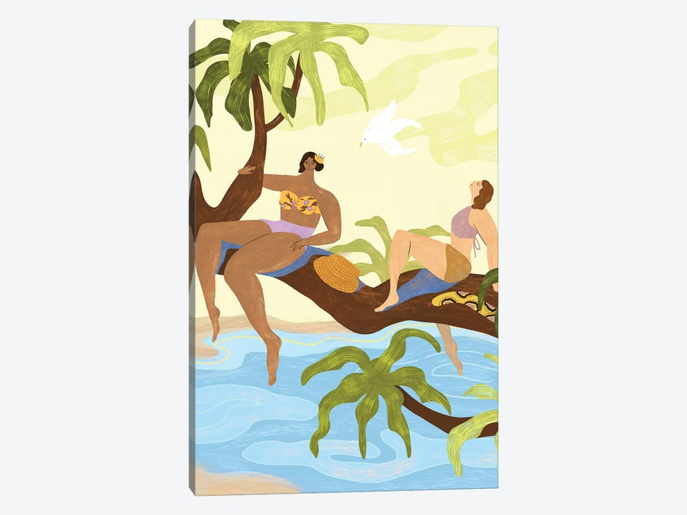 Sharing A Tree by Arty Guava 1-piece Canvas Art