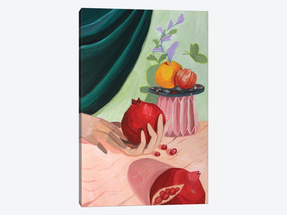 Pomegranate by Arty Guava 1-piece Canvas Wall Art