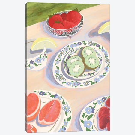 Picnic Canvas Print #ATG16} by Arty Guava Canvas Artwork