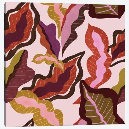 Peranakan Foliage Canvas Print #ATG17} by Arty Guava Canvas Art